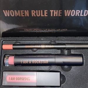 ❤️NEW!!!❤️ REALHER Lip Kit - Women Rule The World